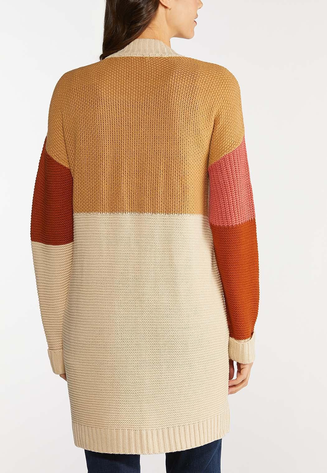 Colorblock Cardigan Sweater (Item #44144445)