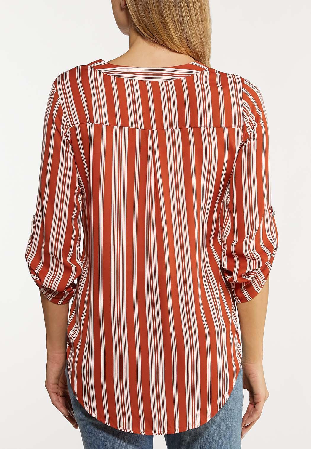 Stripe High-Low Top (Item #44145240)