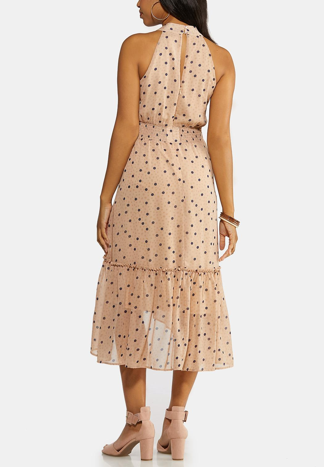 Flounce Polka Dot Dress (Item #44145244)
