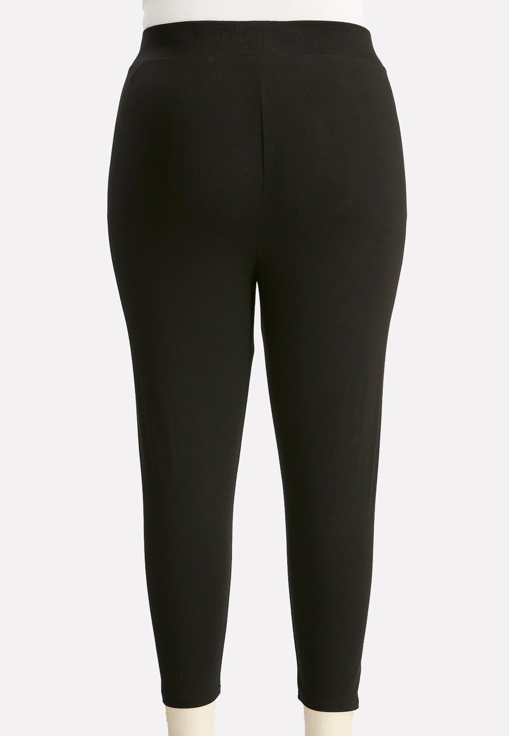 Plus Size Essential Capri Leggings (Item #44146048)