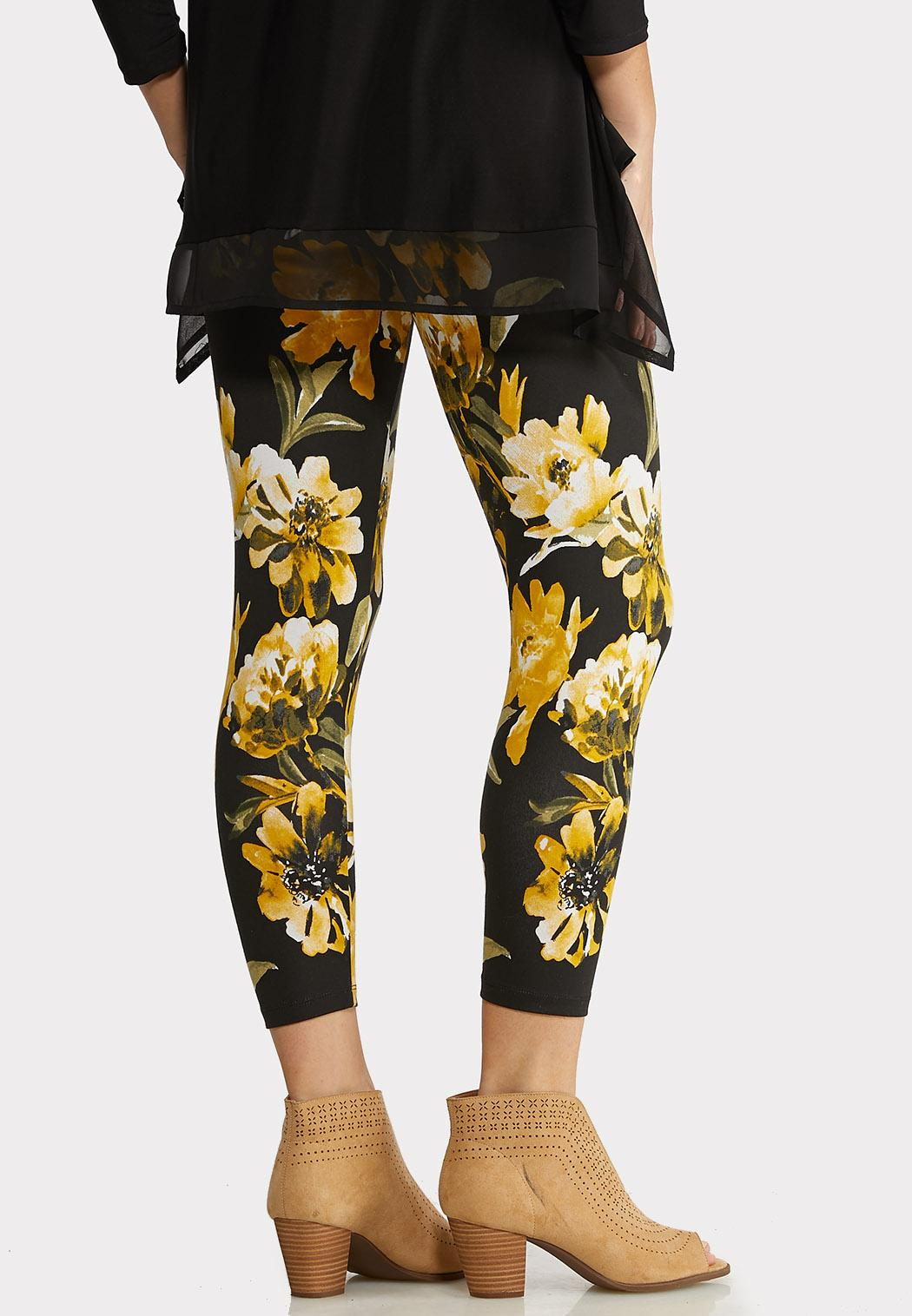 Sunflower Cropped Leggings (Item #44146110)