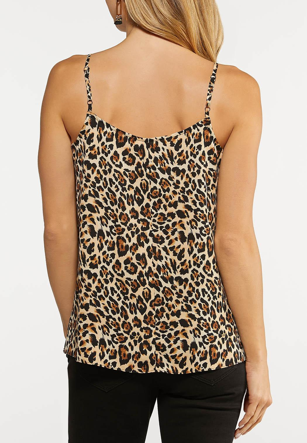 Printed Lace Trim Tank (Item #44146314)