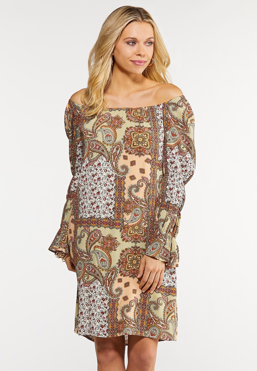 Paisley Peasant Dress (Item #44146315)