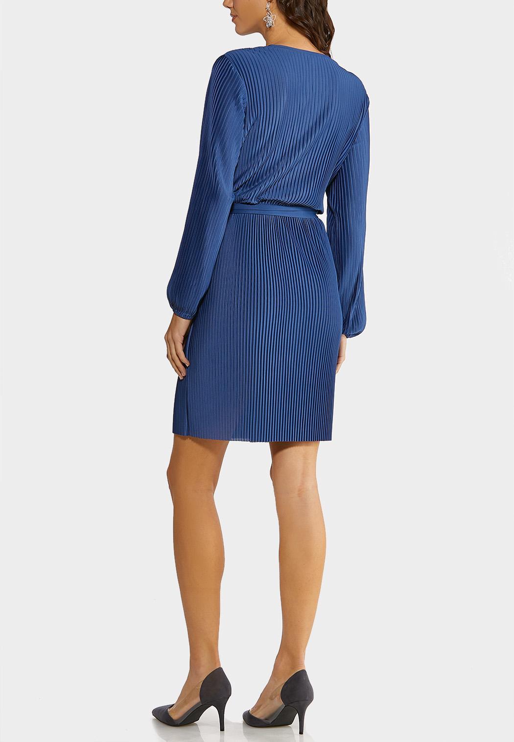 Pleated Wrap Dress (Item #44148889)