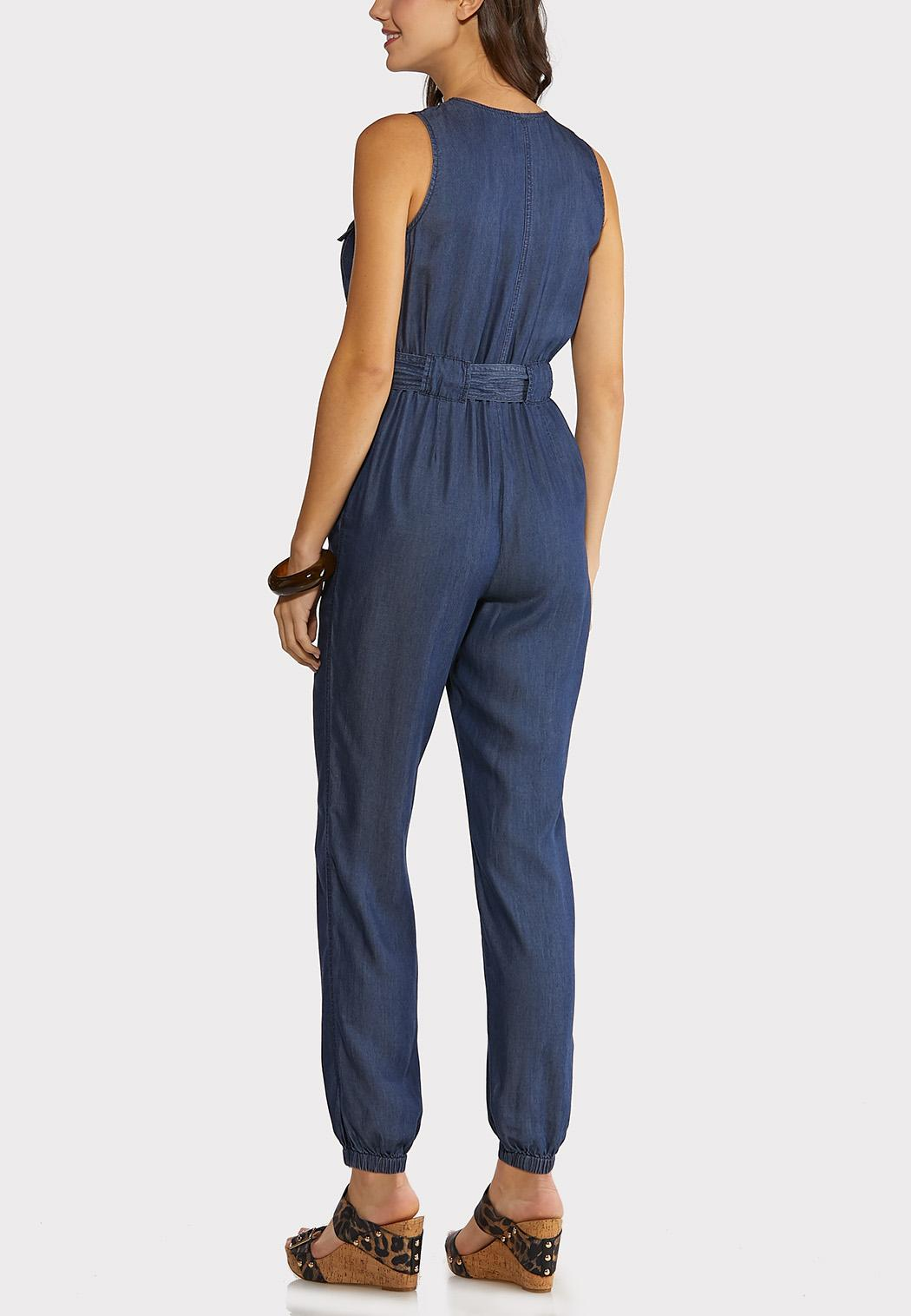 Chambray Jogger Jumpsuit (Item #44149776)