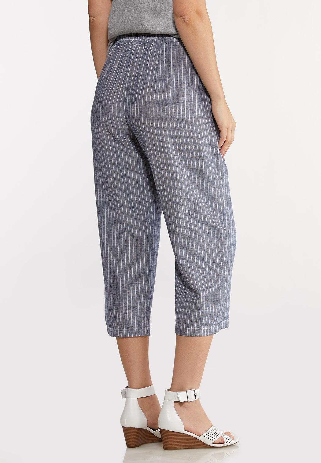 Sailor Stripe Linen Pants (Item #44149996)