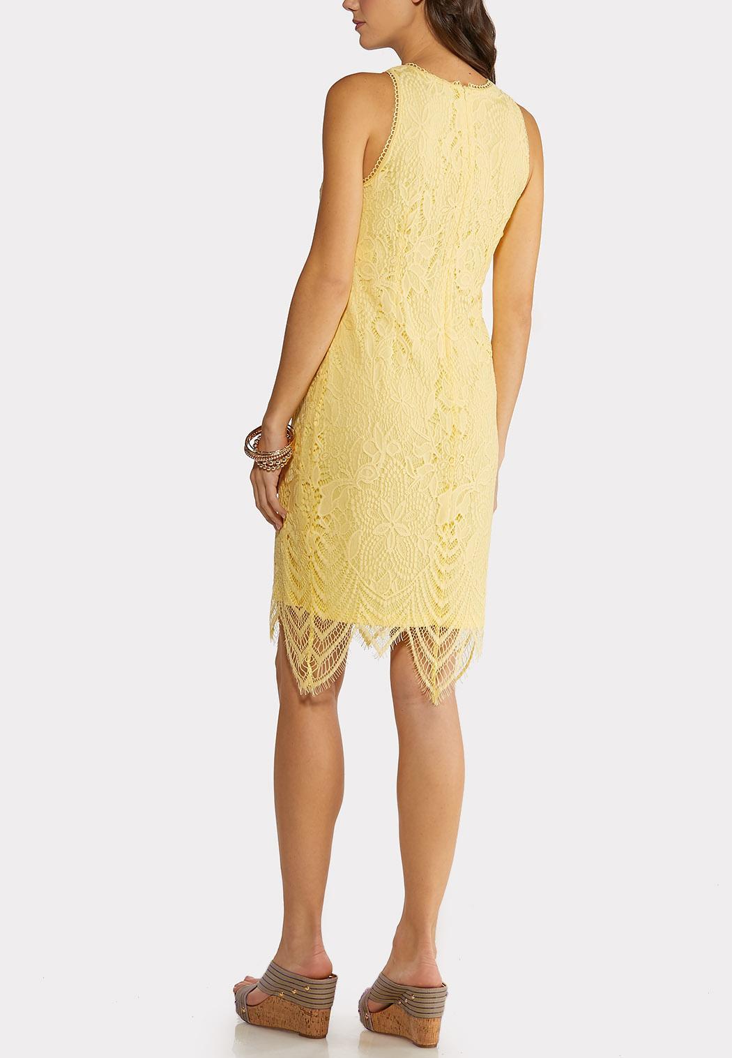 Scalloped Lace Midi Dress (Item #44150090)