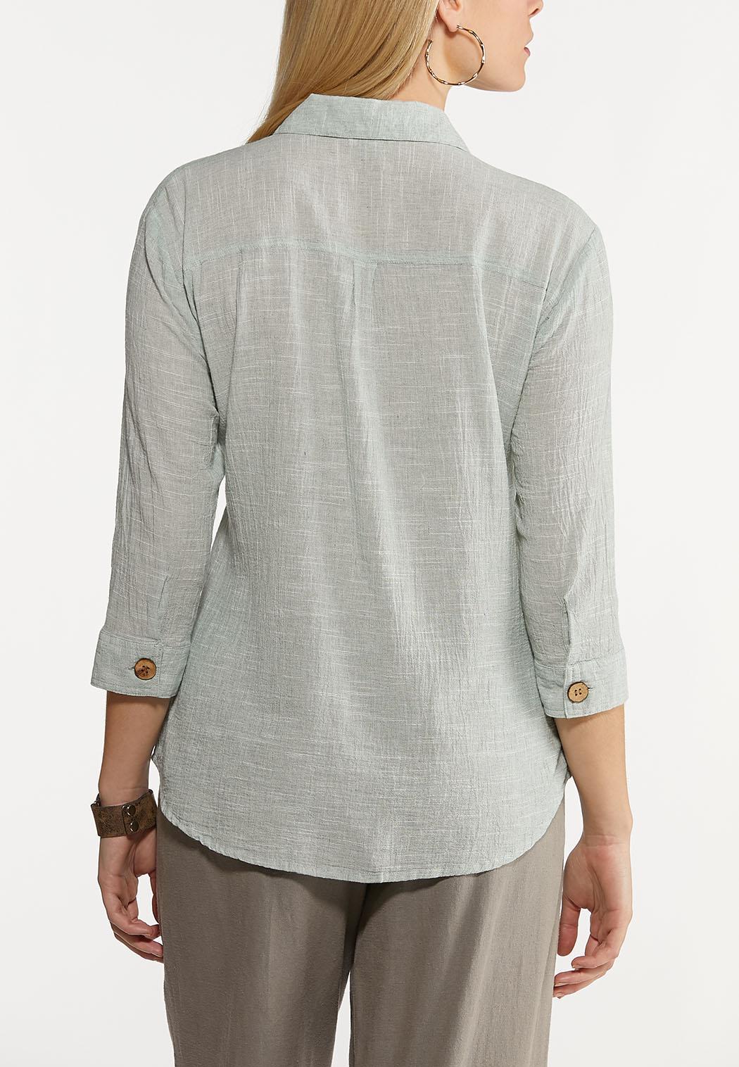 Button Down Linen Shirt (Item #44150887)