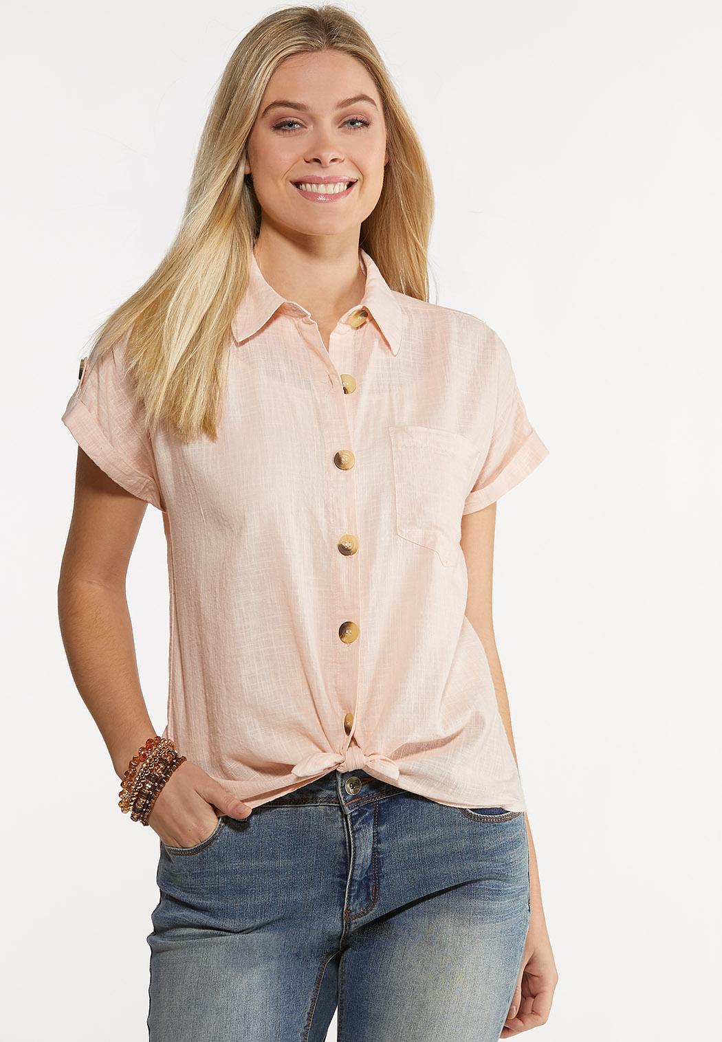Pink Textured Shirt (Item #44152127)