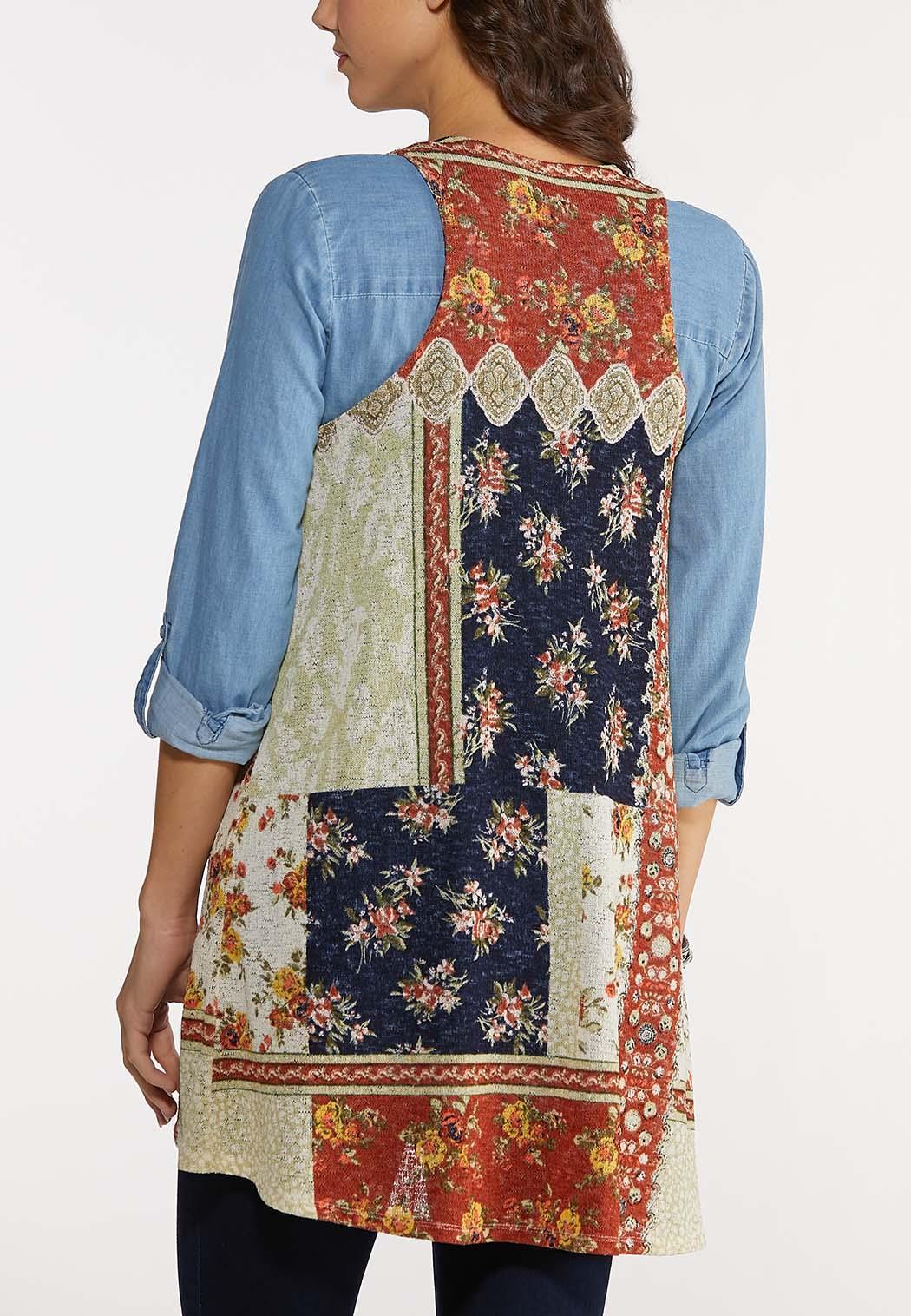 Patchwork Hacci Vest (Item #44154700)