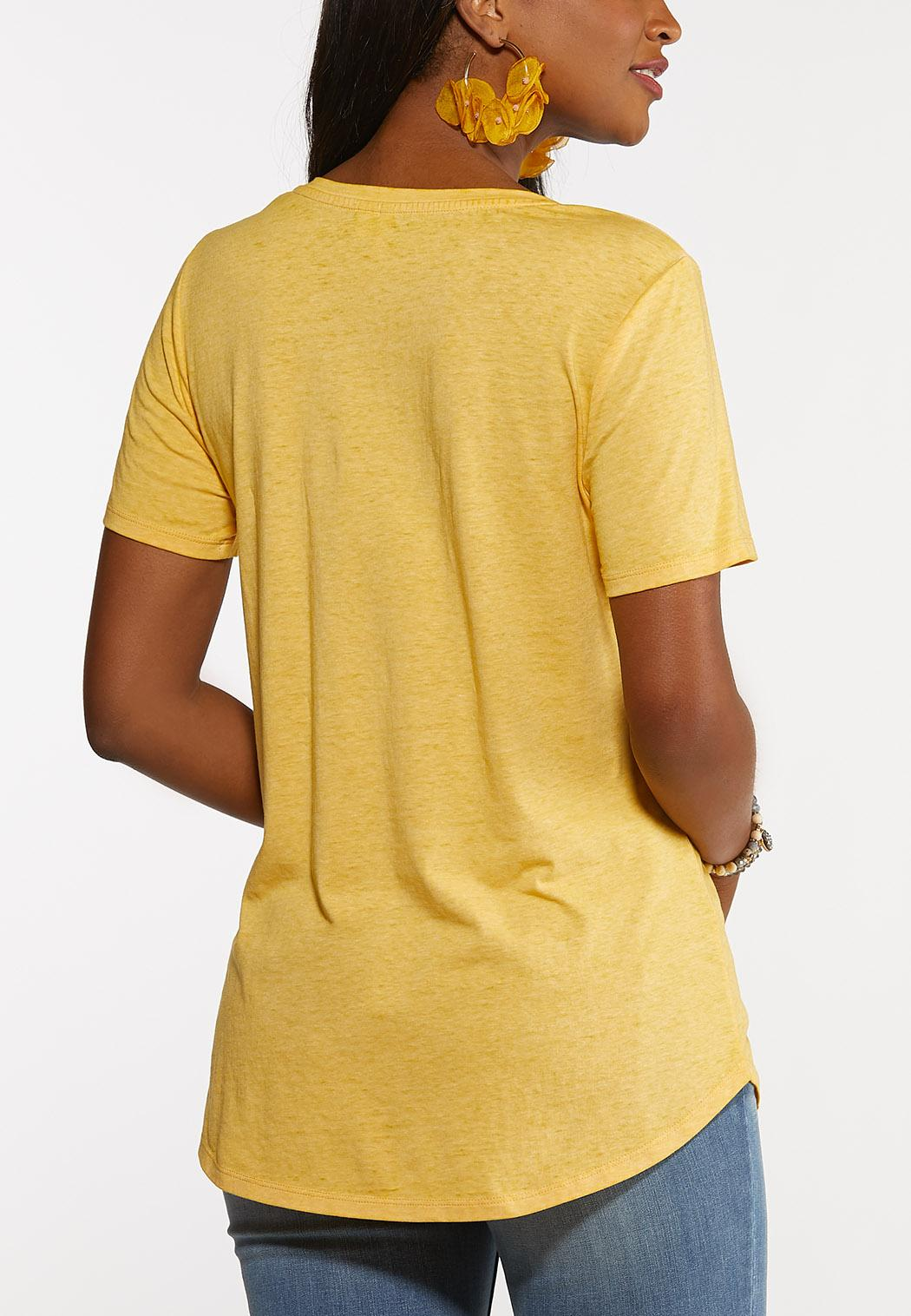 Plus Size Go With The Flow Tee (Item #44155976)