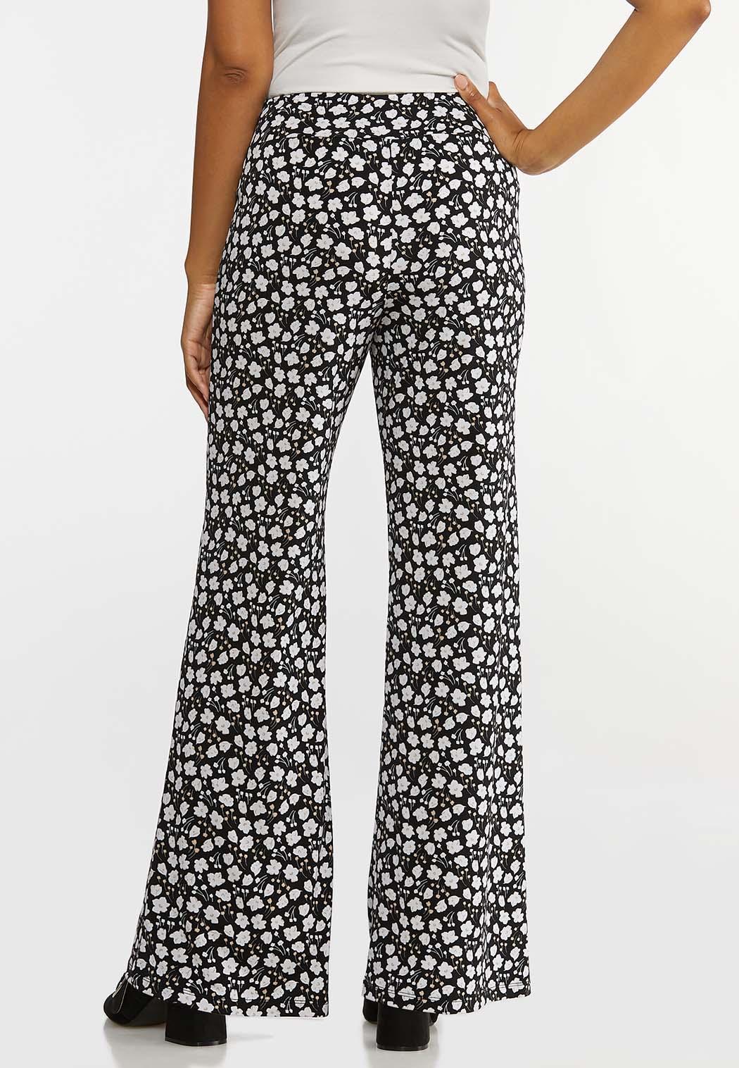 Petite Bitty Floral Tie Waist Pants (Item #44159758)