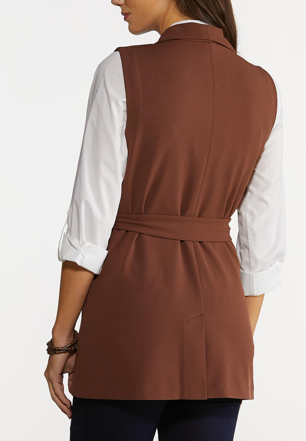 Brown Belted Vest (Item #44159860)