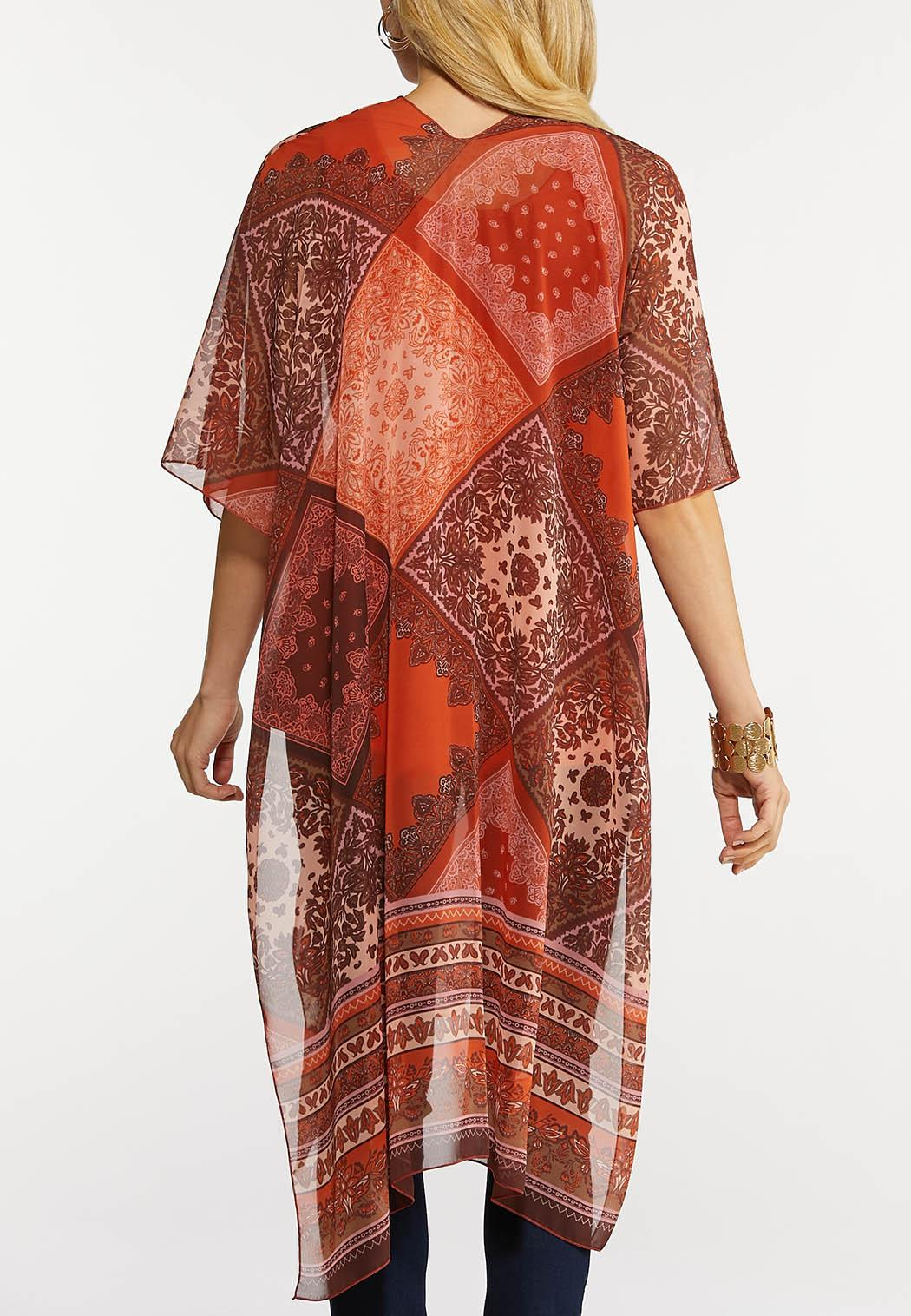 Paisley Patchwork Kimono (Item #44165621)