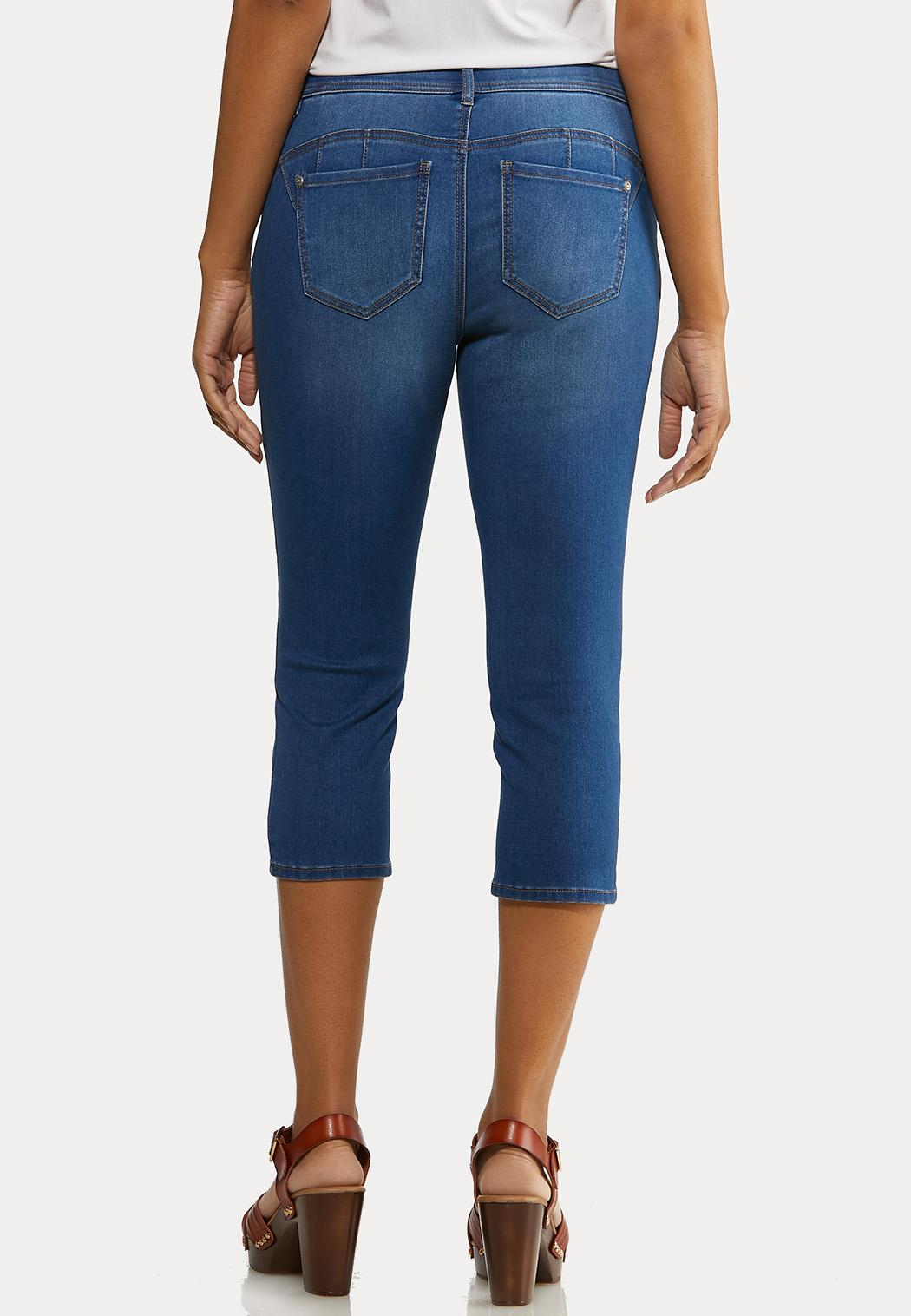 The Perfect Curvy Cropped Jeans (Item #44166044)