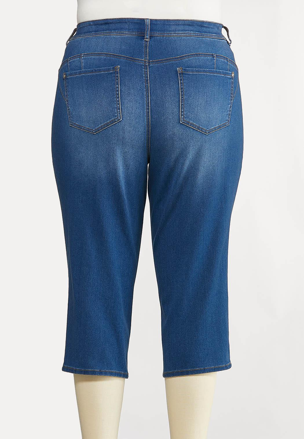 Plus Size The Perfect Curvy Cropped Jeans (Item #44166329)