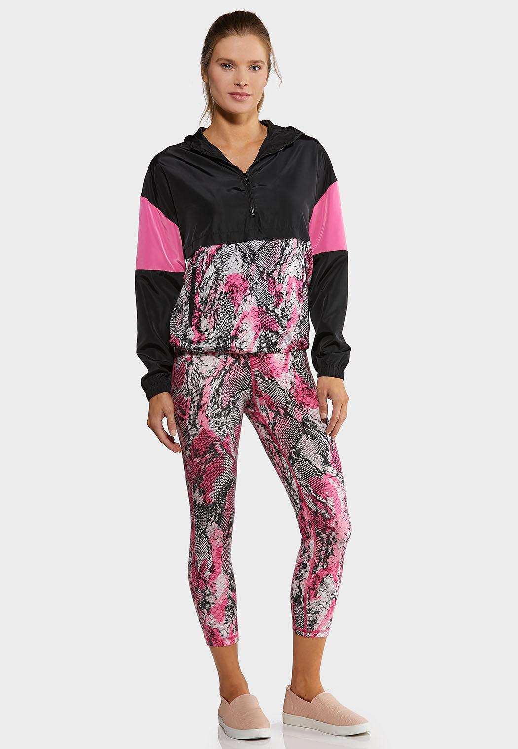 Pink Snakeprint Leggings (Item #44166526)