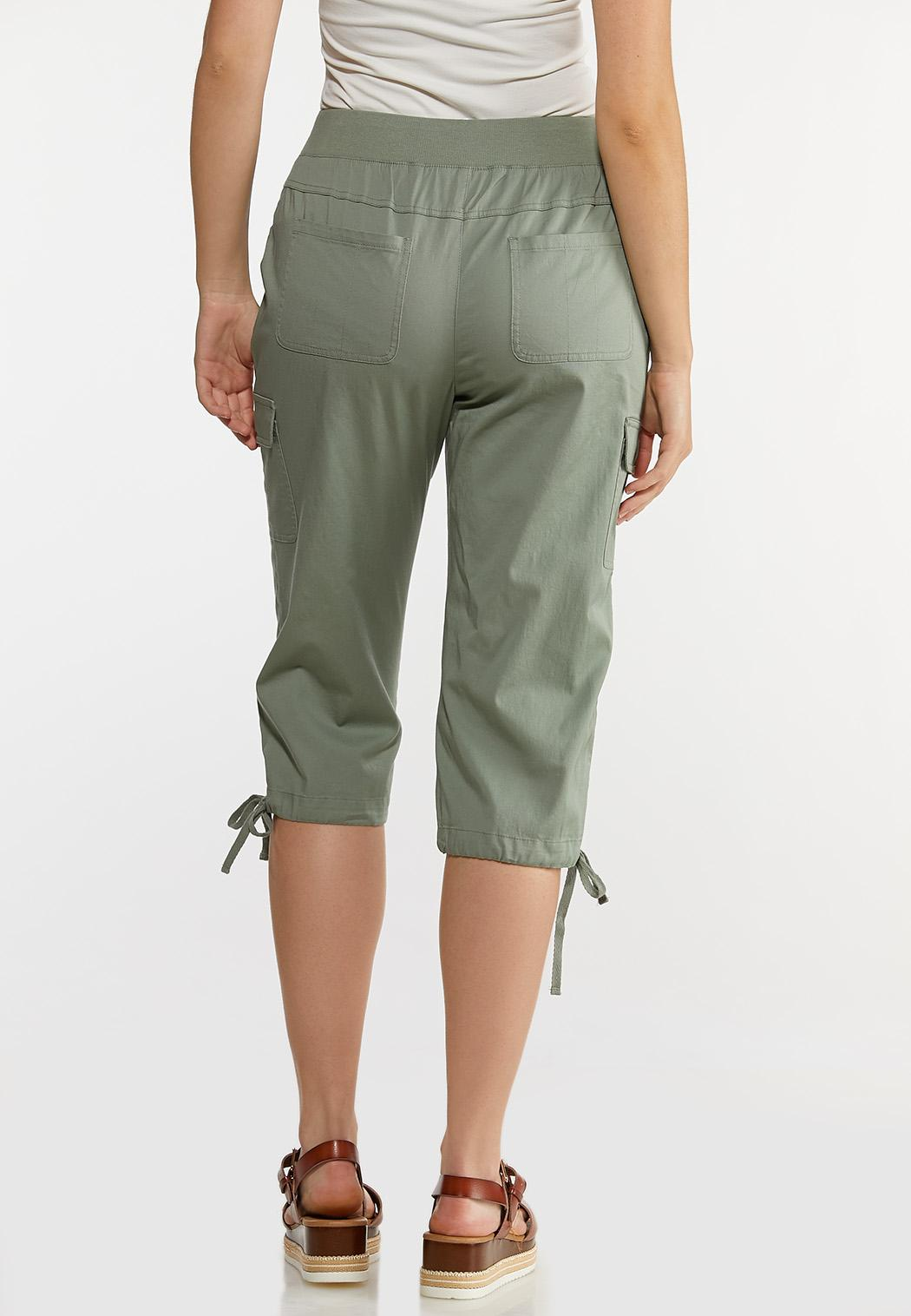 Cropped Utility Pants (Item #44167186)