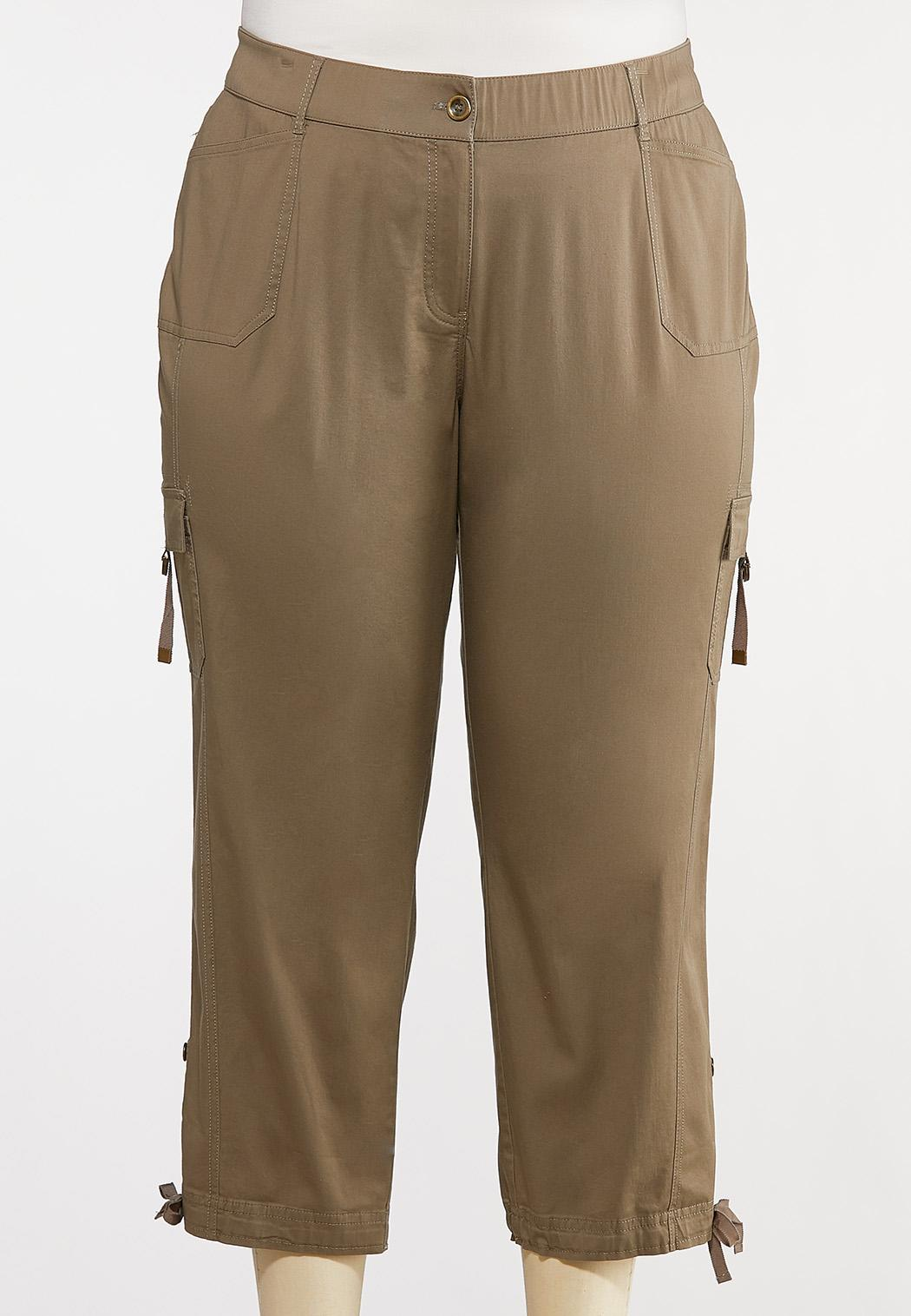 Plus Size Cargo Utility Pants (Item #44167494)