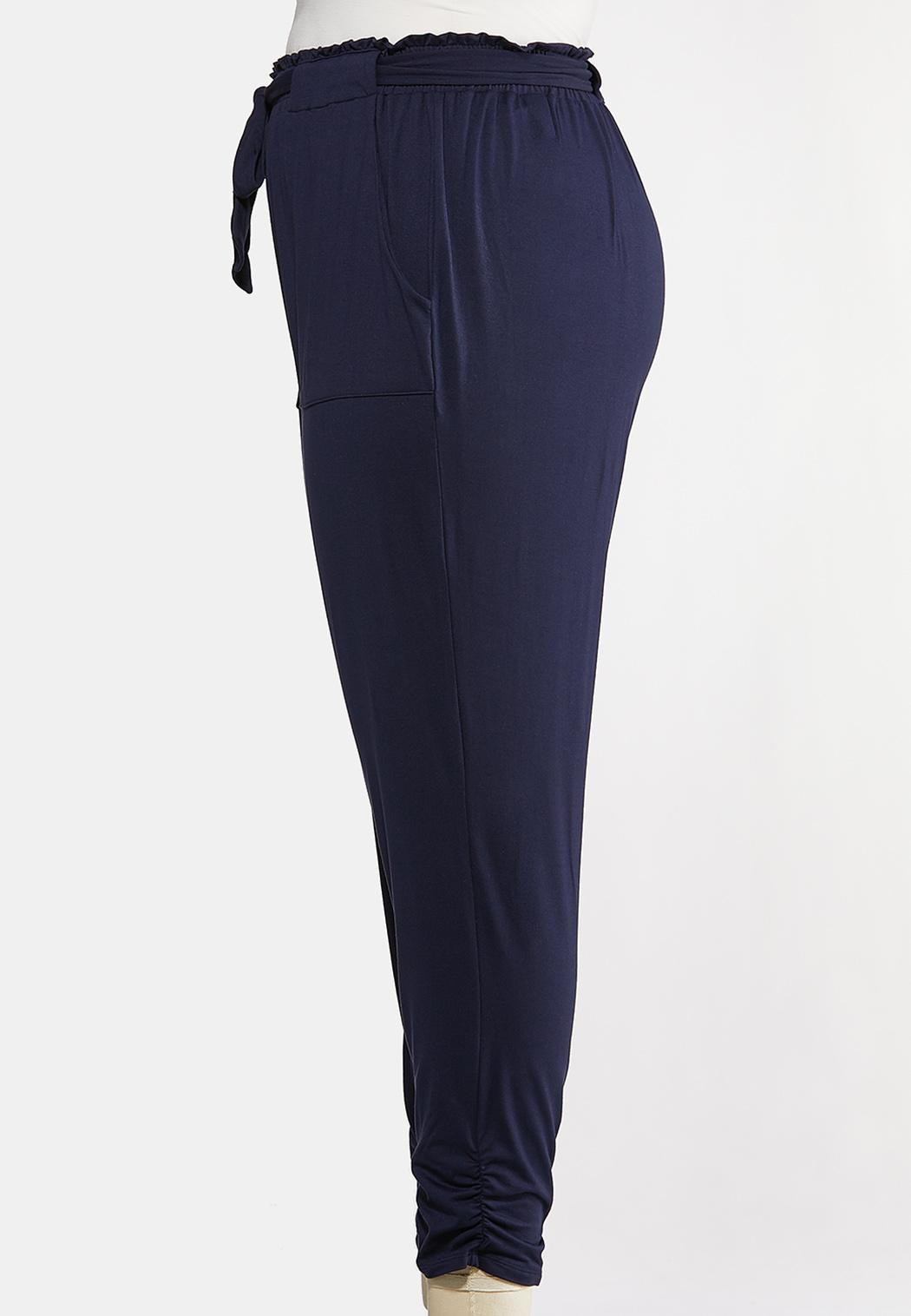 Plus Size Casual Utility Joggers (Item #44168267)