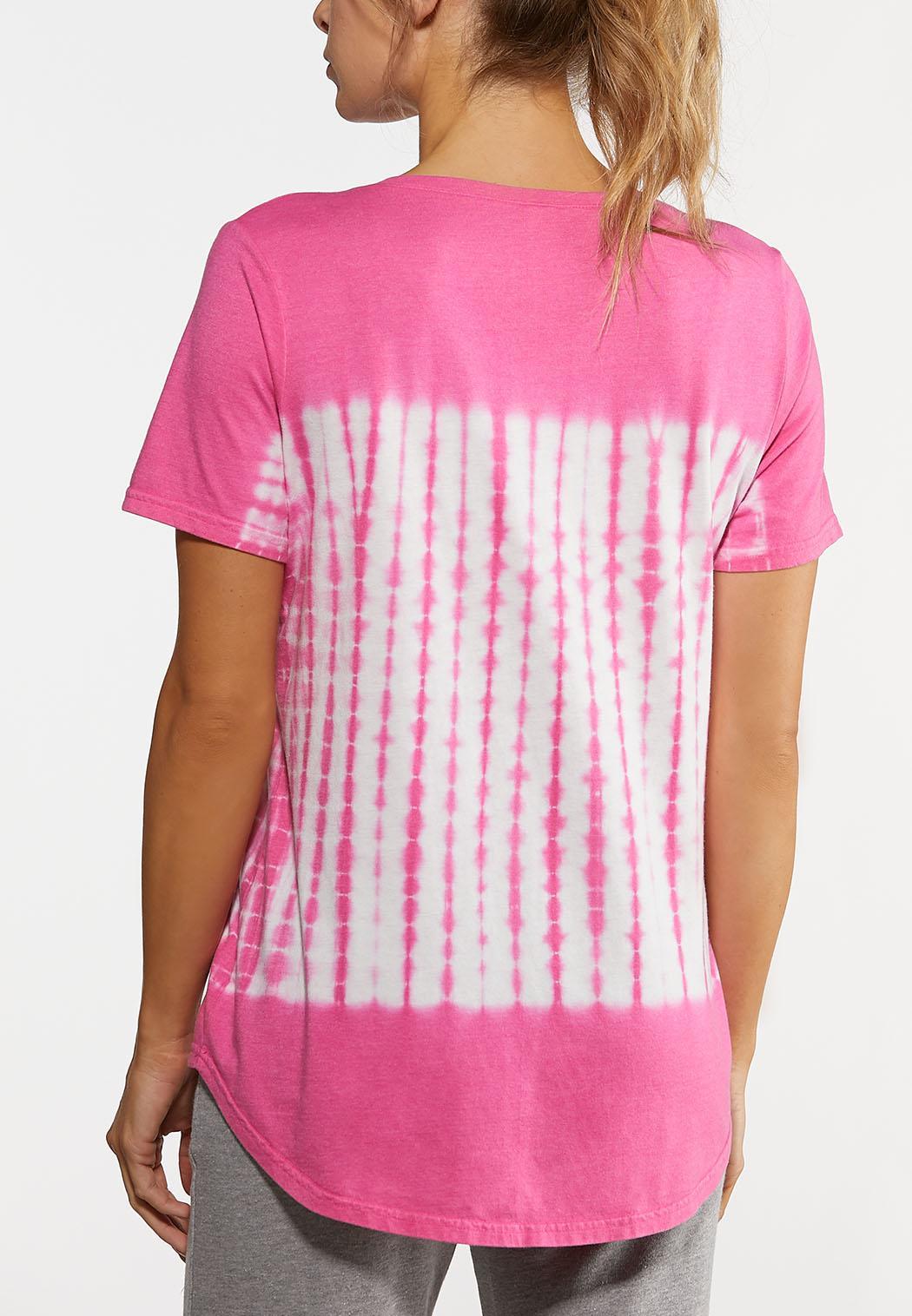 Pink Tie Dye Tee (Item #44168948)