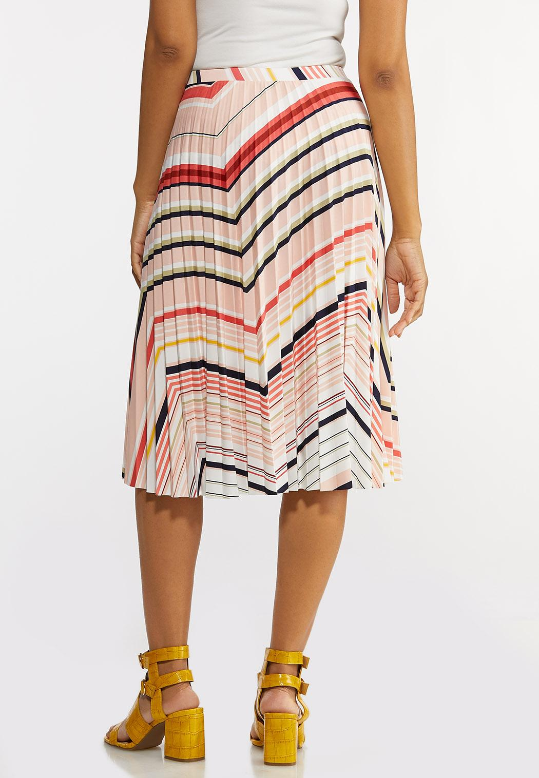 Pleated Chevron Skirt (Item #44169273)
