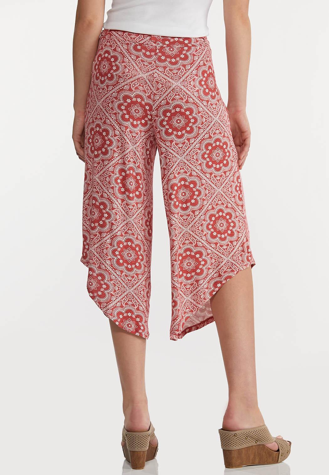 Cropped Tassel Tie Pants (Item #44169289)