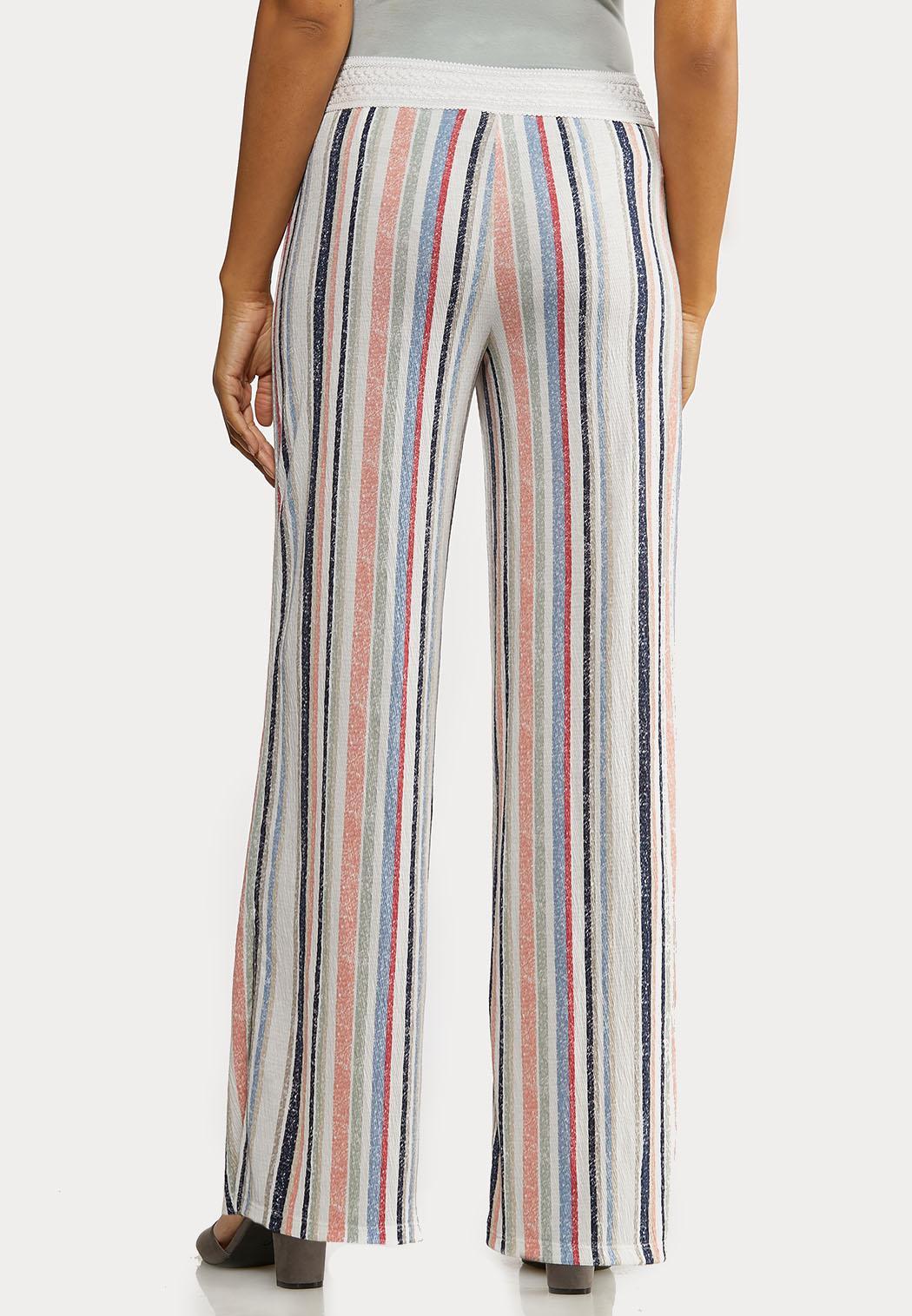 Petite Faded Rainbow Stripe Pants (Item #44169651)