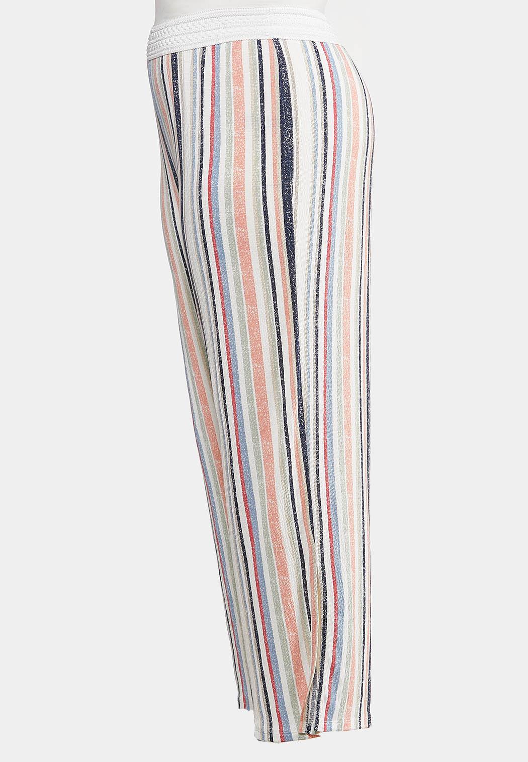 Plus Petite Faded Rainbow Stripe Pants (Item #44169735)