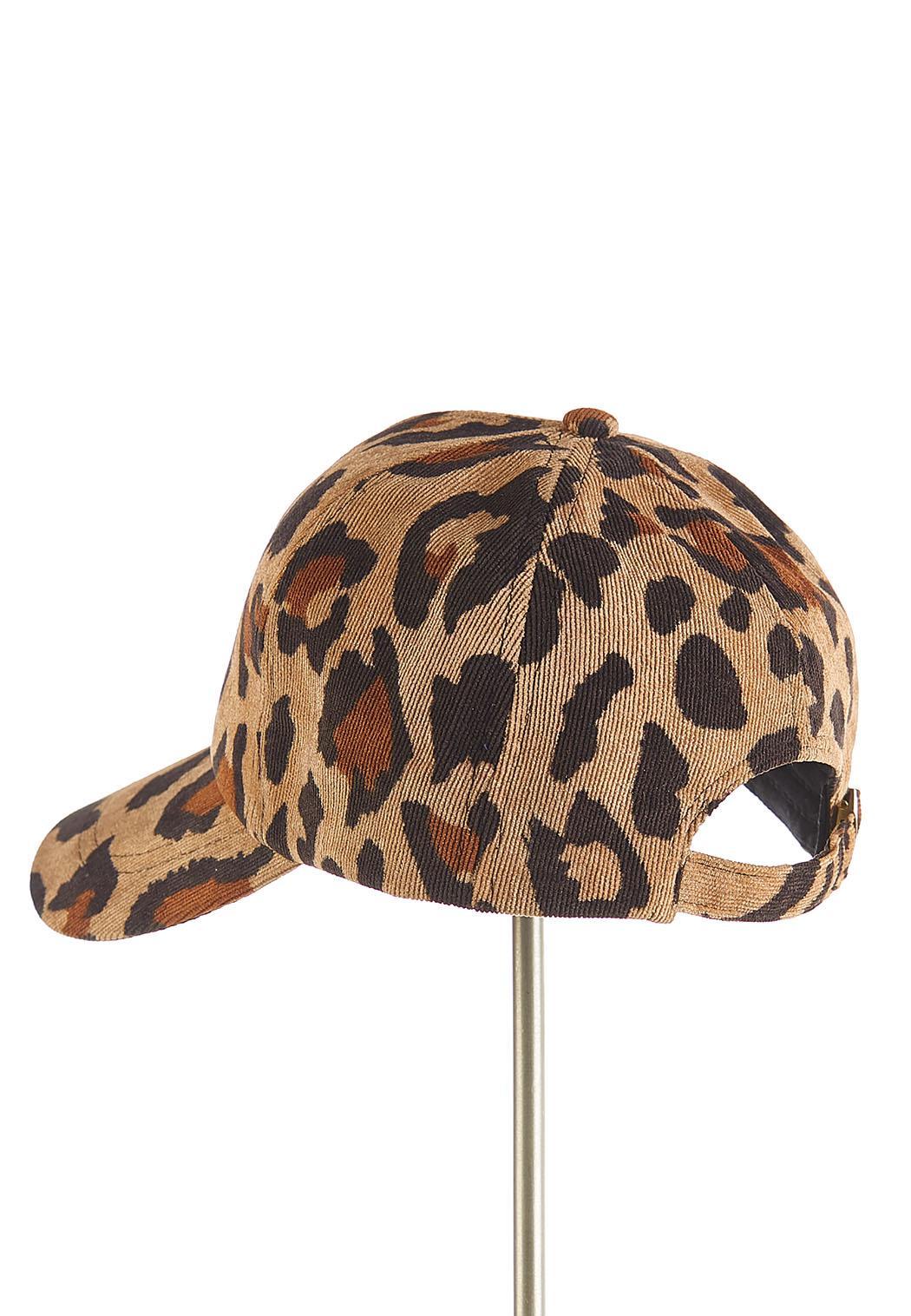 Leopard Corduroy Hat (Item #44172400)