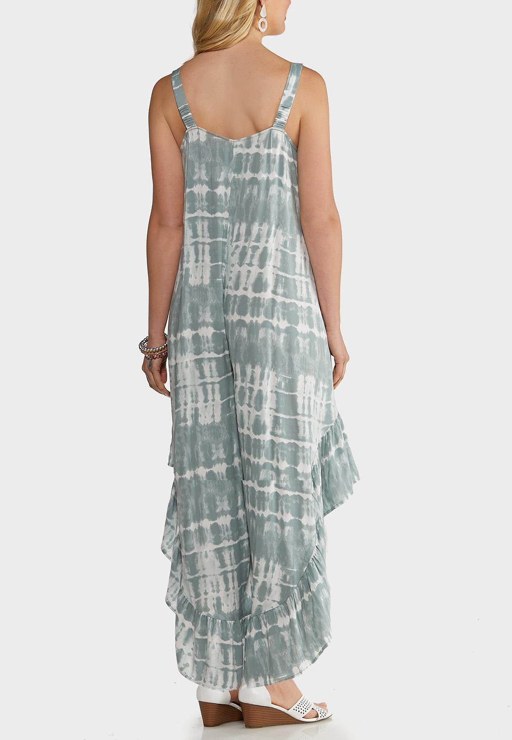 Gray Tie Dye Jumpsuit (Item #44172446)