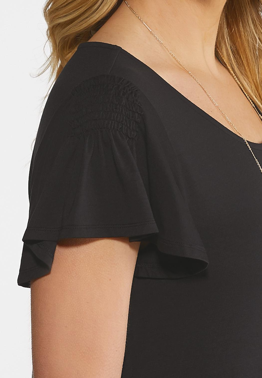 Flutter Sleeve Swing Dress (Item #44173165)