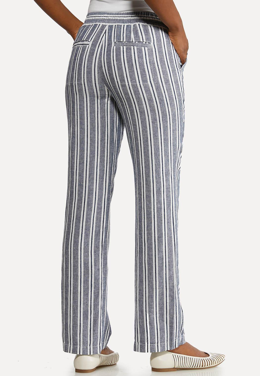 Stripe Linen Beach Pants (Item #44173674)