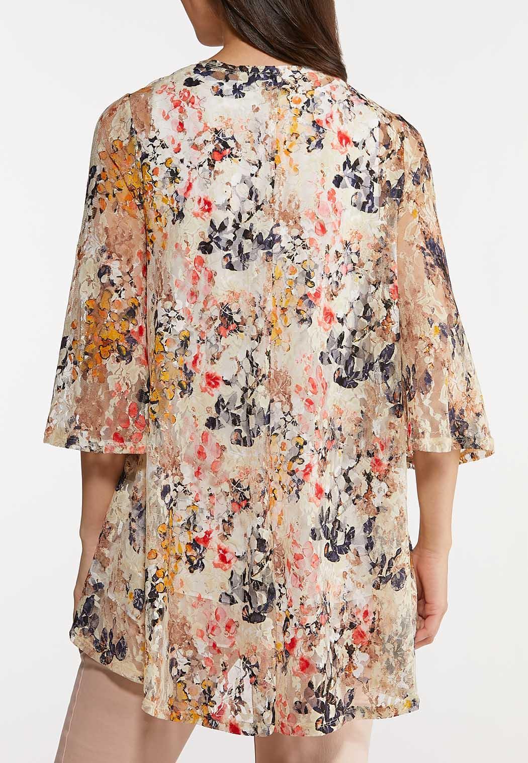 Enchanting Floral Lace Kimono (Item #44175550)