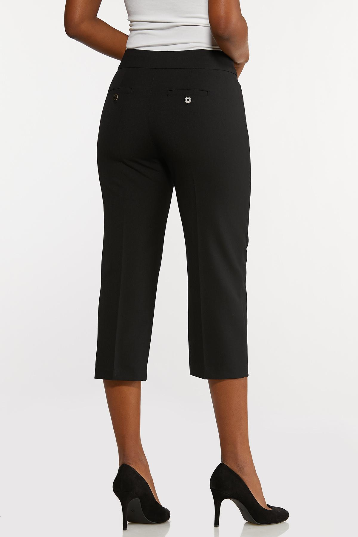 Cropped Stretch Trouser Pants (Item #44175574)