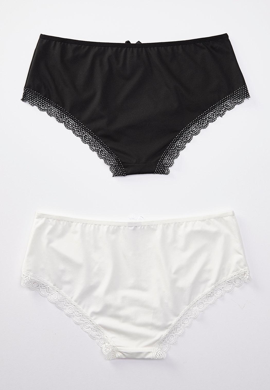 Black White Hipster Panty Set (Item #44176149)