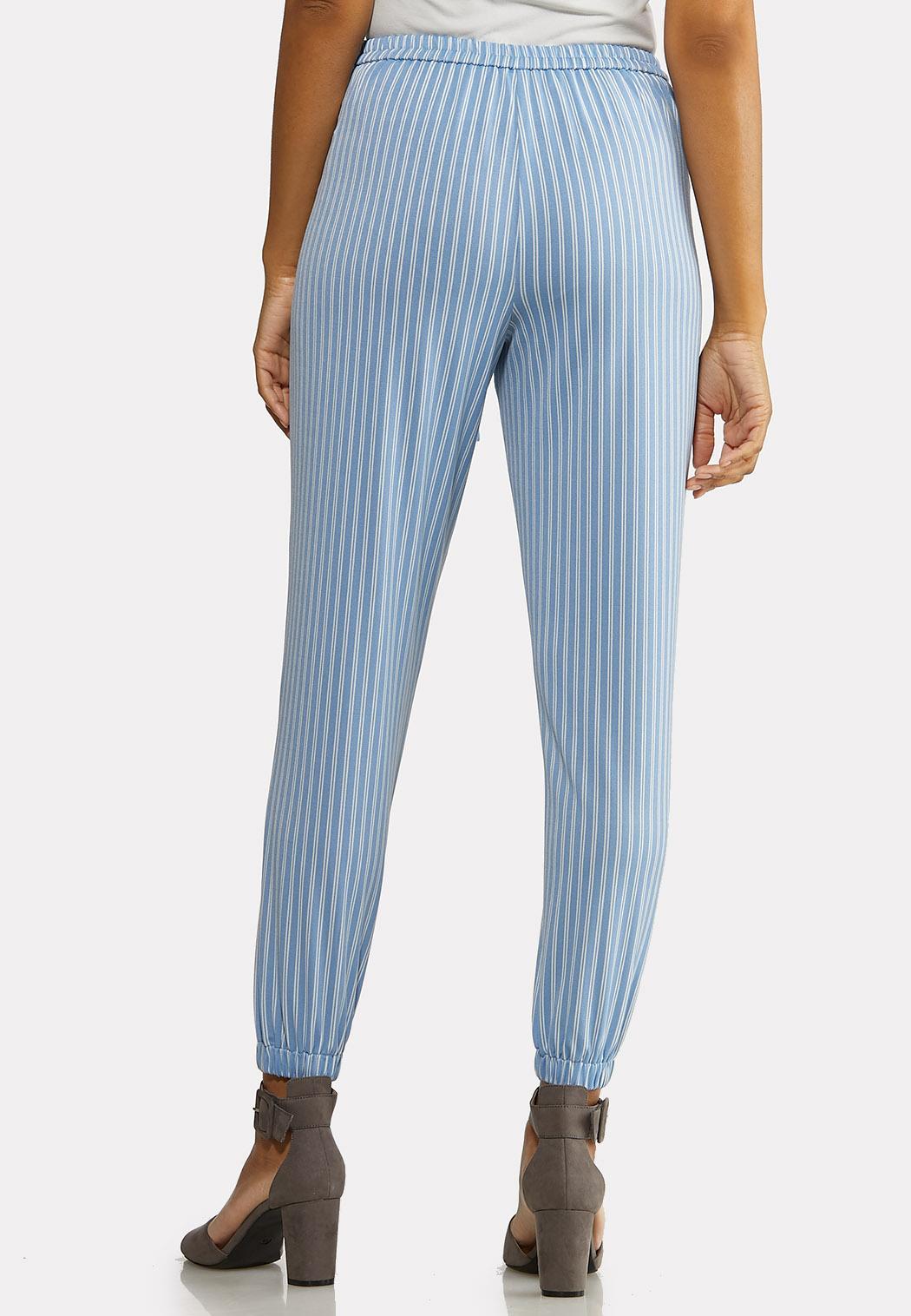Blue Stripe Joggers (Item #44181518)