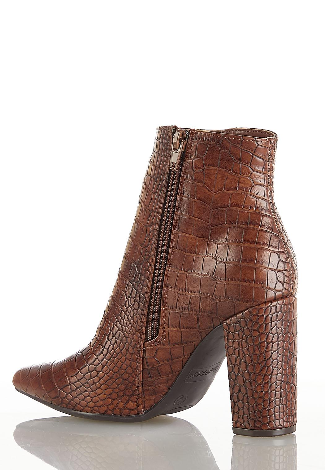Croc Pointy Toe Boots (Item #44181971)
