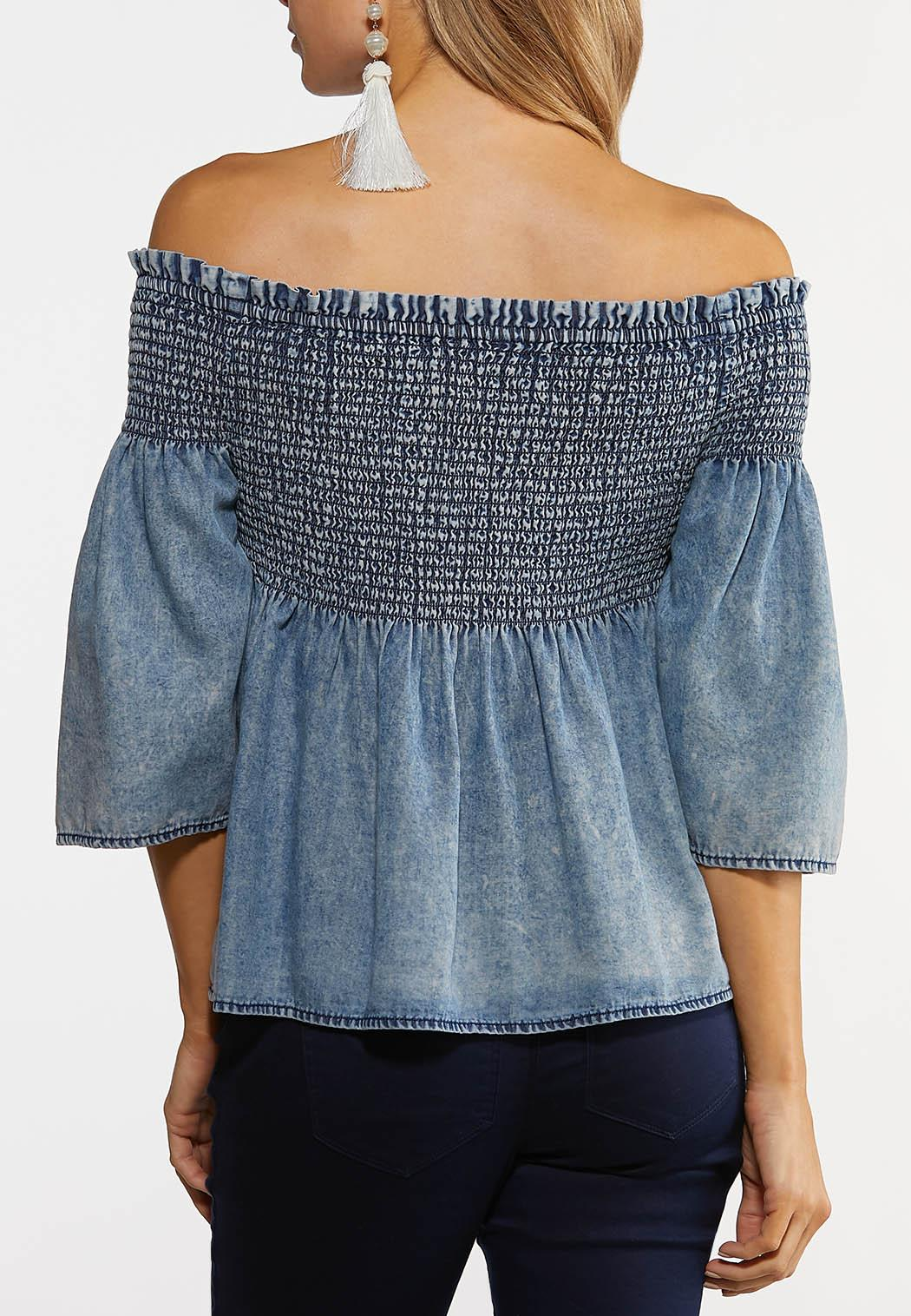 Denim Poet Top (Item #44182713)