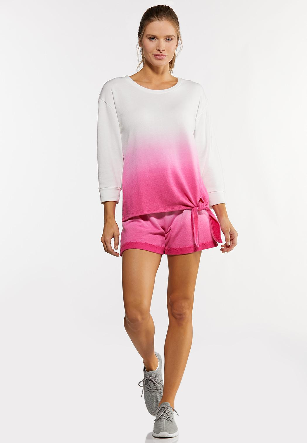 Dip Dye French Terry Top (Item #44183411)