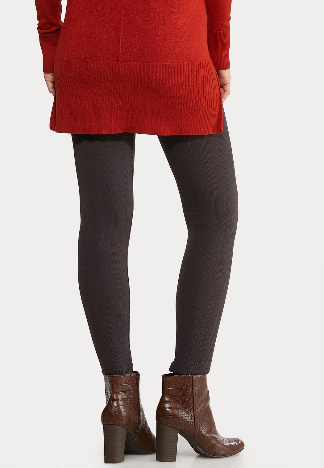 Ribbed Fleece Leggings (Item #44184581)