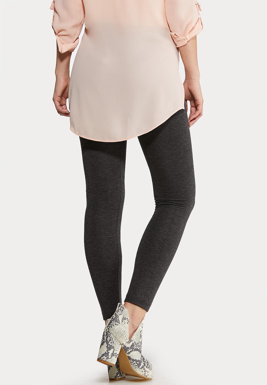 Charcoal Fleece Leggings (Item #44184668)