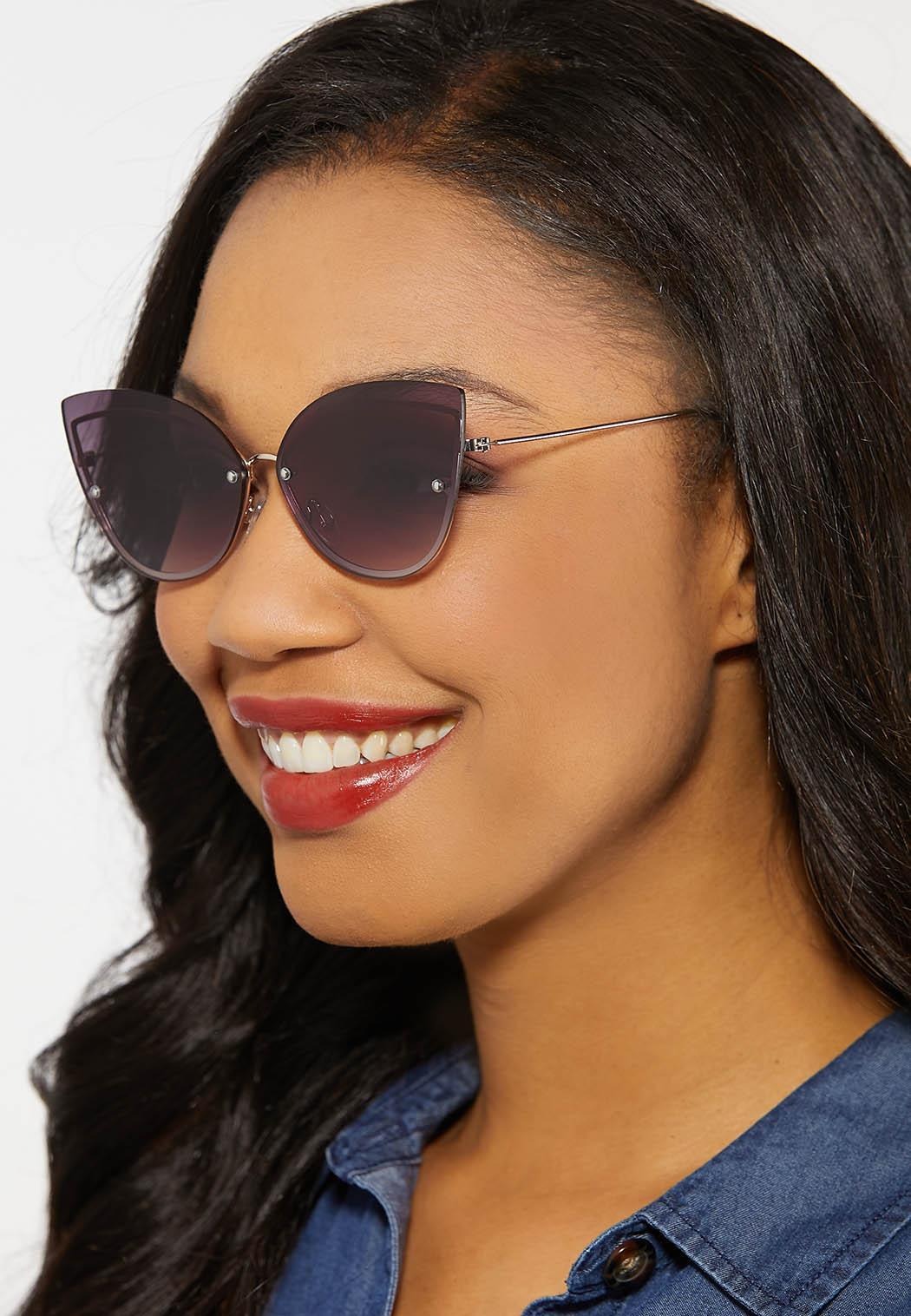Frame Back Cateye Sunglasses (Item #44185034)