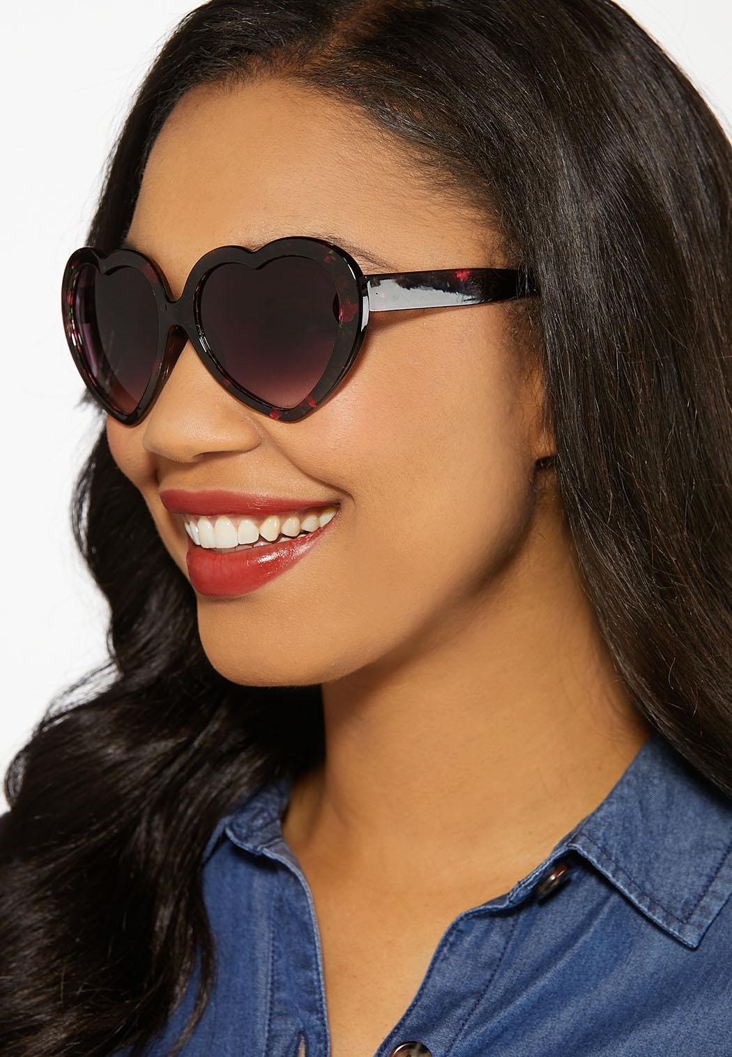 Floral Heart Sunglasses (Item #44185743)