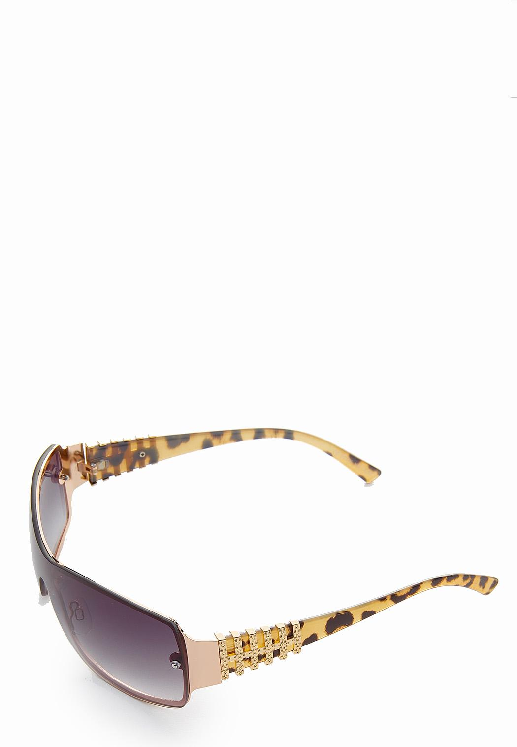 Leopard Arm Shield Sunglasses (Item #44185762)