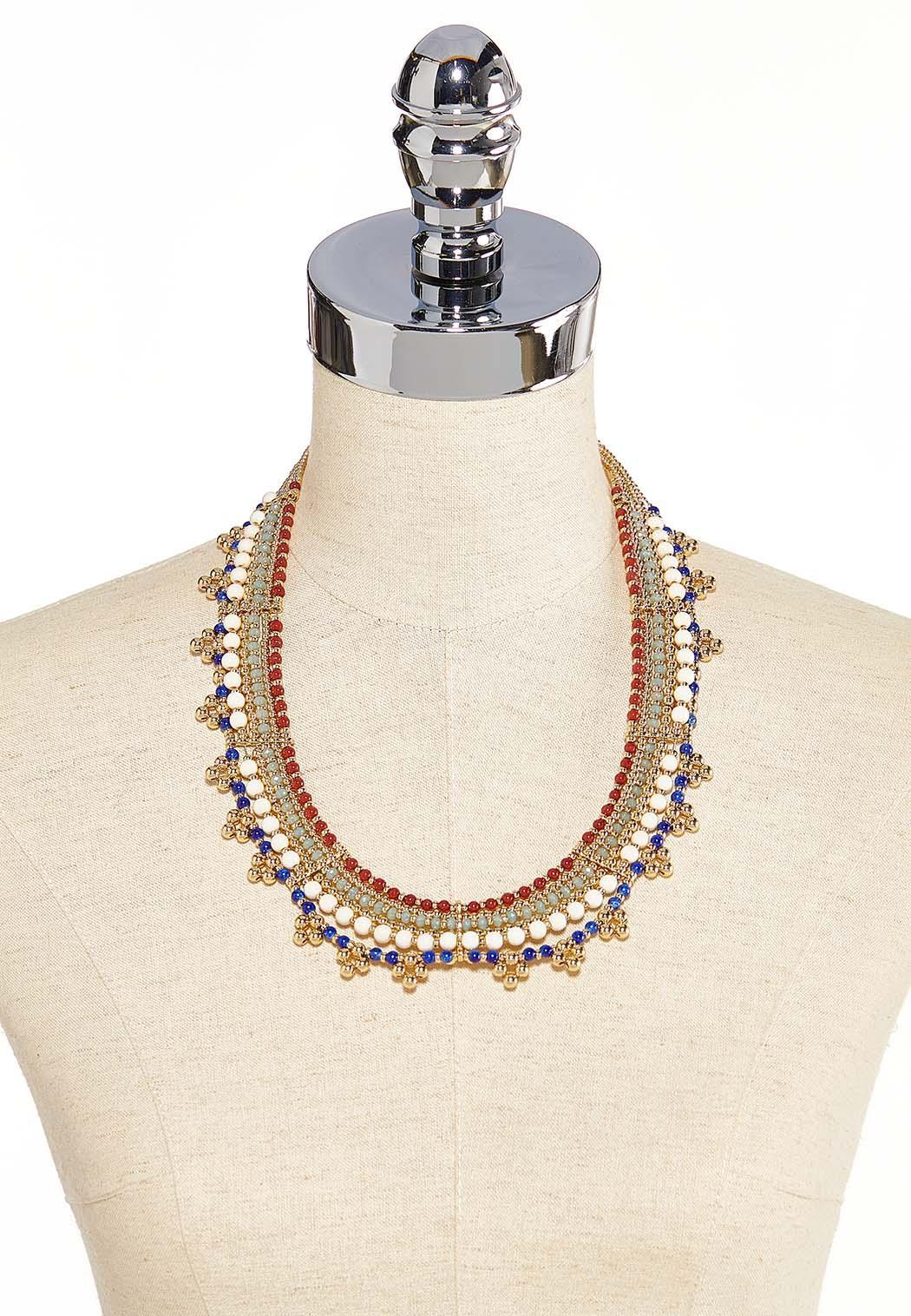Beaded Collar Necklace (Item #44186523)