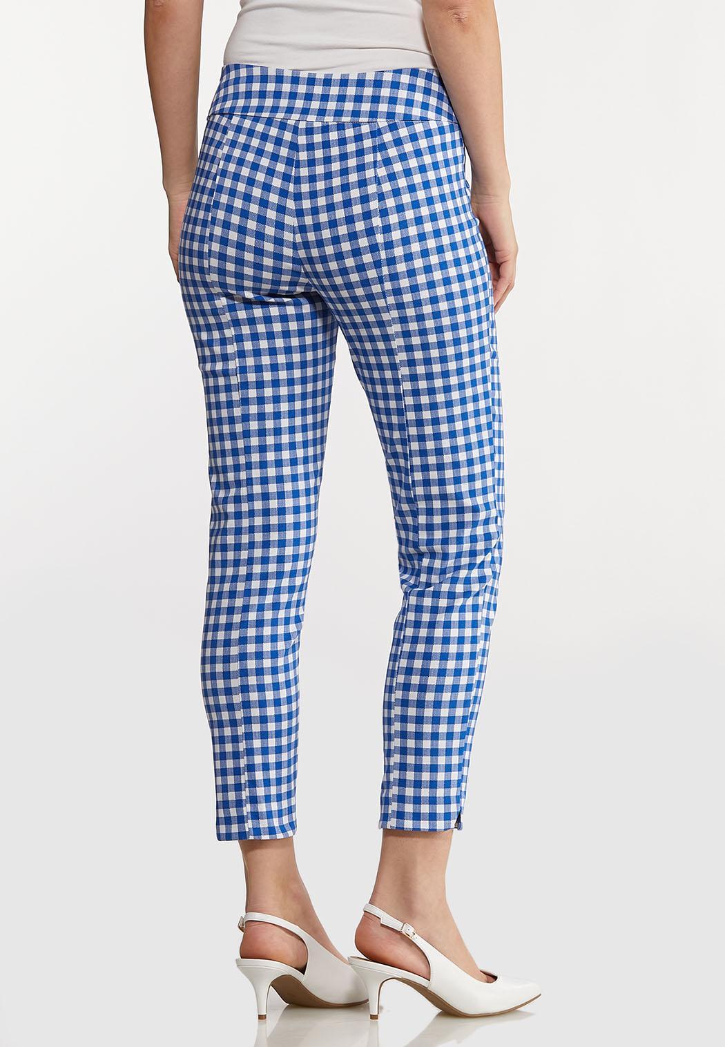 Gingham Bengaline Pants (Item #44186867)