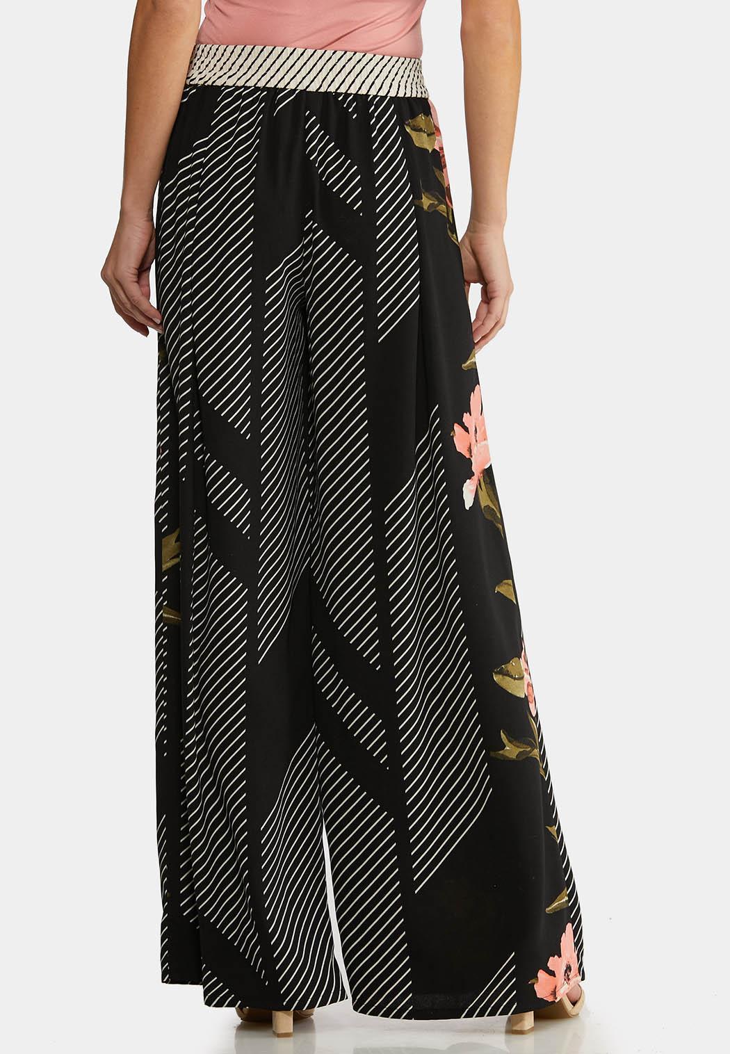 Floral Jungle Stripe Pants (Item #44187003)