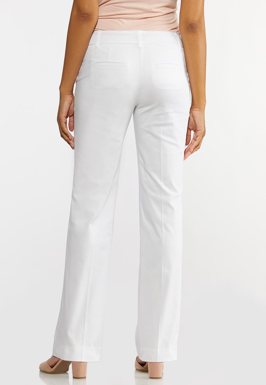 Sateen Trouser Pants (Item #44187141)
