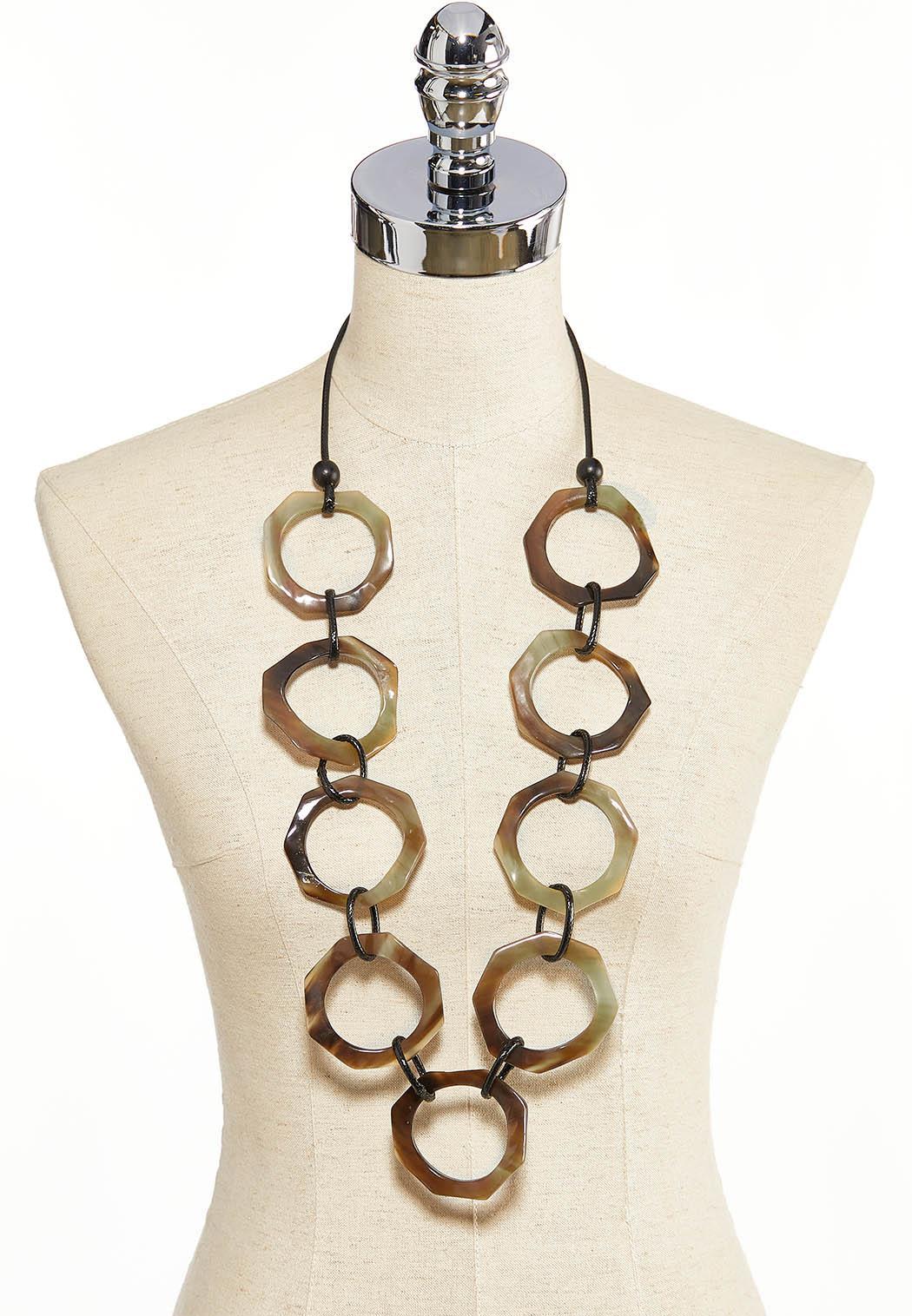 Tort Link Cord Necklace (Item #44187968)